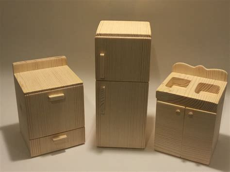 unfinished kitchen furniture unfinished doll furniture kitchen set great for