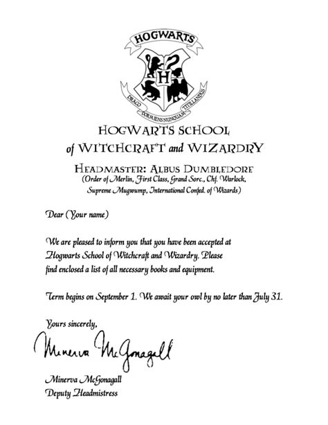 College Acceptance Letter Thick Thin hogwarts acceptance letter printable demisiriusly