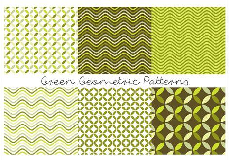 geometric pattern green green geometric patterns download free vector art stock