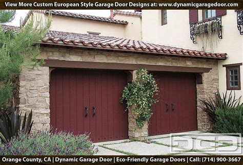 european garage doors crafted in eco friendly composite