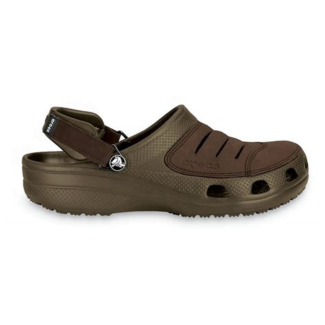 croc clogs for crocs crocs yukon n104 chocolate chocolate mens clogs
