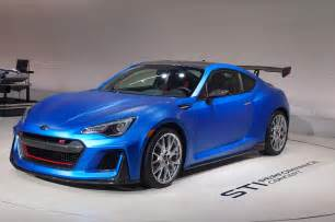 Subaru Prz Subaru Brz Sti Performance Concept Debuts At New York Auto