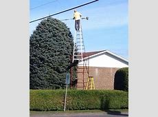 21 Funny Pictures That Explain Why Women Live Longer Than ... Unsafe Ladder Safety