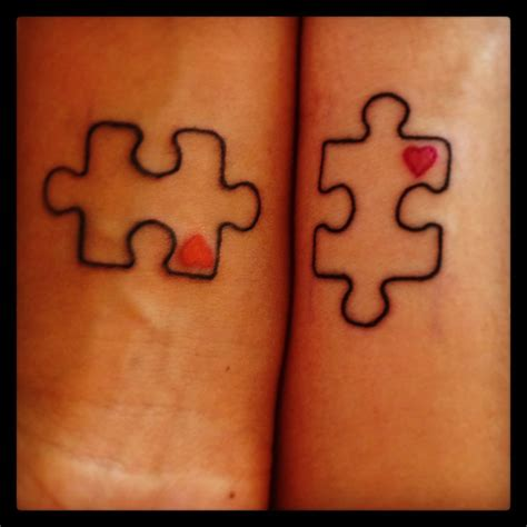 heart puzzle tattoo 22 amazing puzzle designs images and pictures