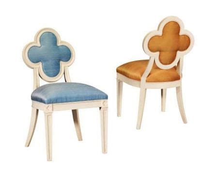 Suzanne Kasler Quatrefoil Chair by Clover Back Chair Look 4 Less And Steals And Deals