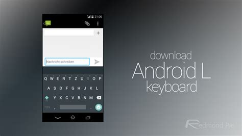 keyboard for android android l keyboard apk for any device redmond pie