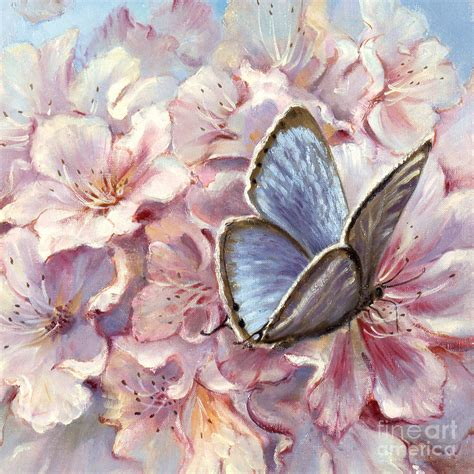 Cool Bedroom Painting Ideas blue butterfly by silvia duran