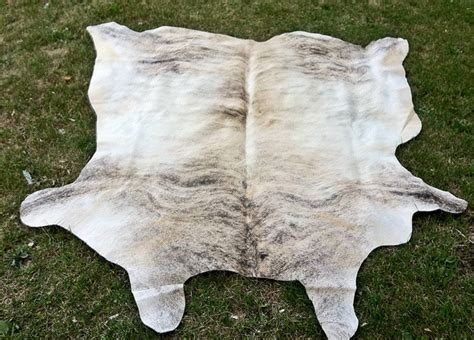 grey cowhide rugs grey white brindle cowhide rug modern toronto by decorhut