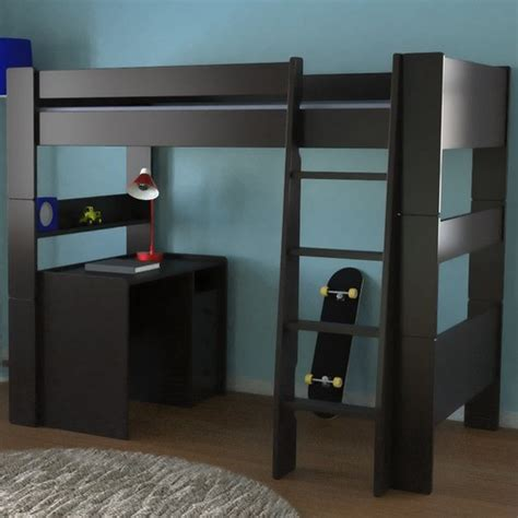 Furniture Loft Bed by Highsleeper Loft Bed With Built In Ladder Modern