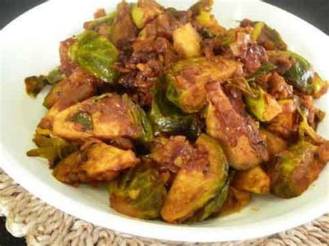 brussels sprouts recipes vegetarian brussels sprout subzi indian vegetarian recipe