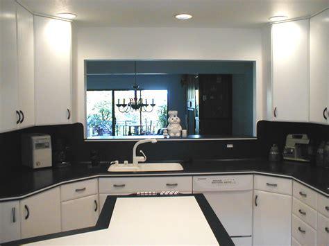 kitchen window to living room pass through kitchen window images