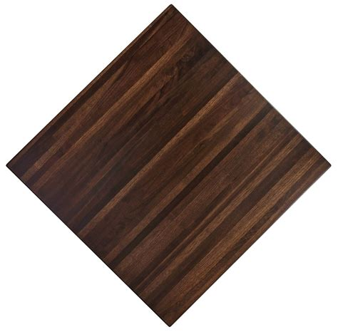 premium butcher block wood restaurant table tops timeworn
