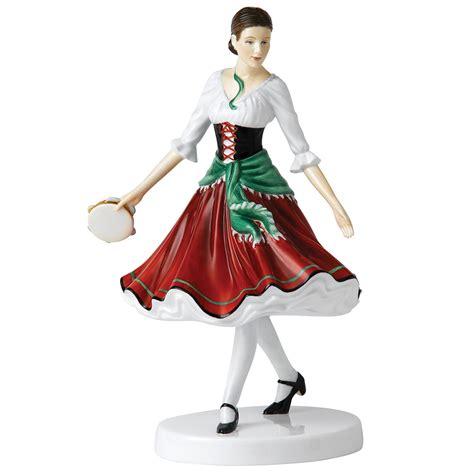 Traditional Housewarming Gifts by Royal Doulton Figurine Italian Folk Dance
