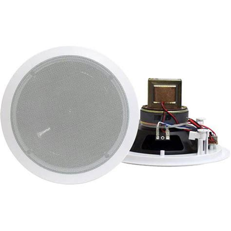 pyle pro pdic60t 6 5 quot two way in ceiling speaker pdic60t