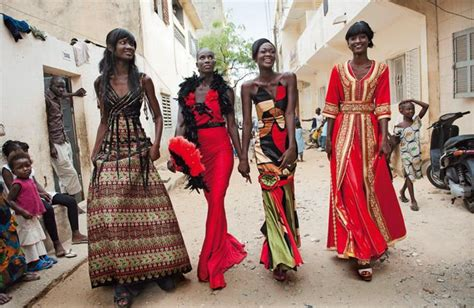 fashion and style senegal models in senegal african people pinterest