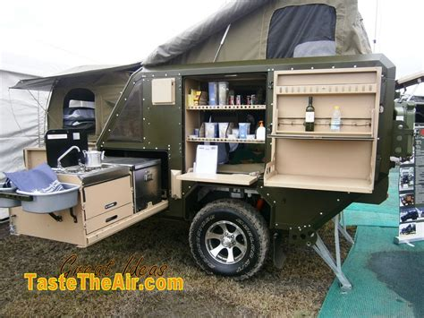 offroad trailer homemade off road cer trailer with brilliant creativity