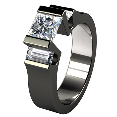 how much is a titanium wedding band worth 15 non traditional engagement rings worth considering