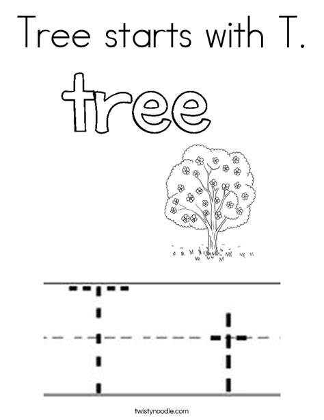 t is for tree a letter of the week preschool craft 87 coloring pages for letter t t for tiger coloring