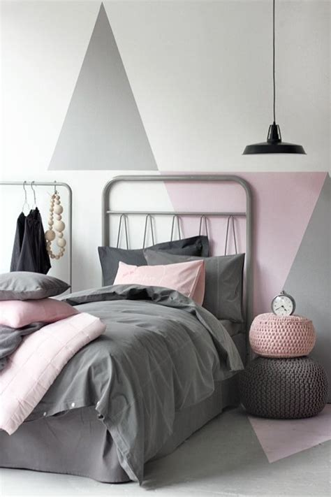 Gray And Pink Bedroom Ideas - metallic grey and pink 27 trendy home decor ideas digsdigs