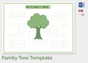 family tree template doc family tree template 37 free printable word excel pdf