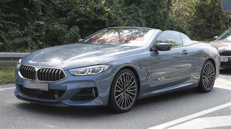 bmw  series convertible spied