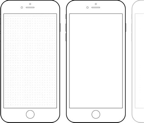 iphone screen template 27 images of mobile phone template adornpixels