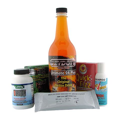 Urine Detox Kit by Buy Hair Urine Blood Cleansing Program