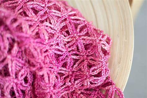 knitted starfish pattern starfish stole free crochet pattern sweetgeorgia yarns