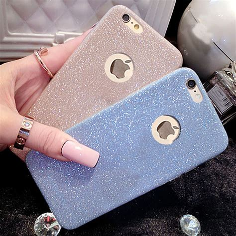 Shining Iphone 6 6s 6 Plus Silicone Tpu Clear Soft Thin Cover popular sparkle iphone buy cheap sparkle iphone