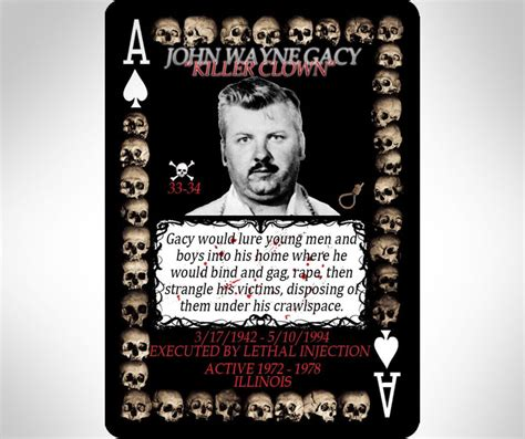 Buy Ebay Items With Amazon Gift Card - serial killer playing cards