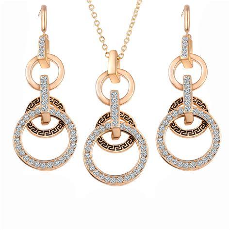 fashion jewelry necklace earrings european style pendant