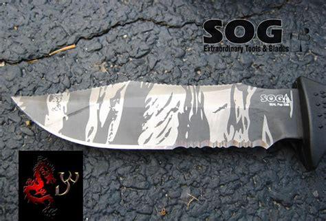 sog seal pup tiger stripe seal pup elite tigerstripe kydex sheath sog knives e37ts k