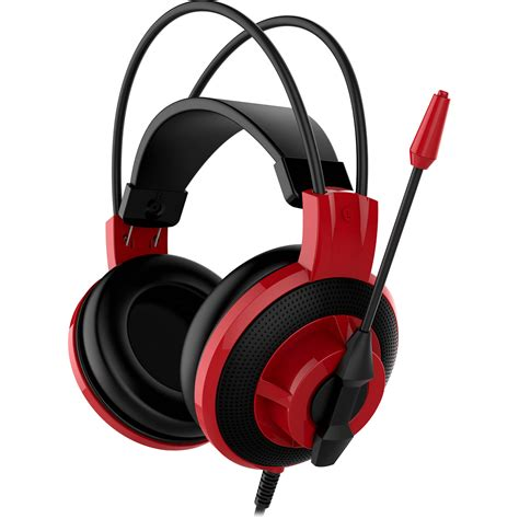 Headset Msi msi ds501 gaming headset ds501headset b h photo