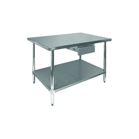 Stainless Steel Tables With Drawers by Stainless Steel Economy Table Drawer Gsw