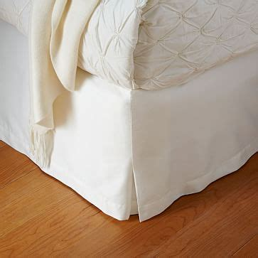 west elm bed skirt organic sateen bed skirt west elm