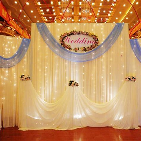 backdrop light curtain led festival curtain light fairy light festival backdrop