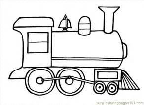 Free Printable Coloring Page Train 17 Transport &gt Land  sketch template