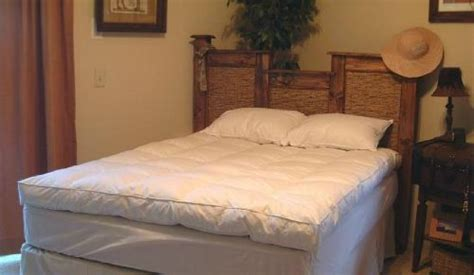 Willow Highlands Queen Size Down Mattress Feather Bed Size Feather Bed