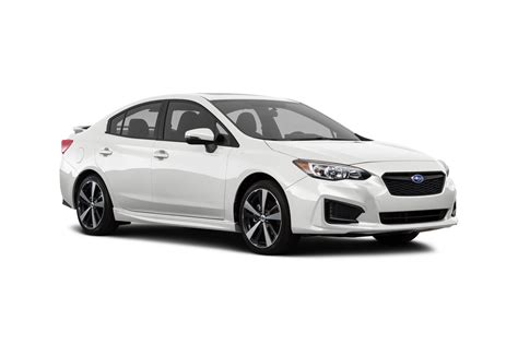 subaru awd sedan 2018 subaru impreza pricing for sale edmunds