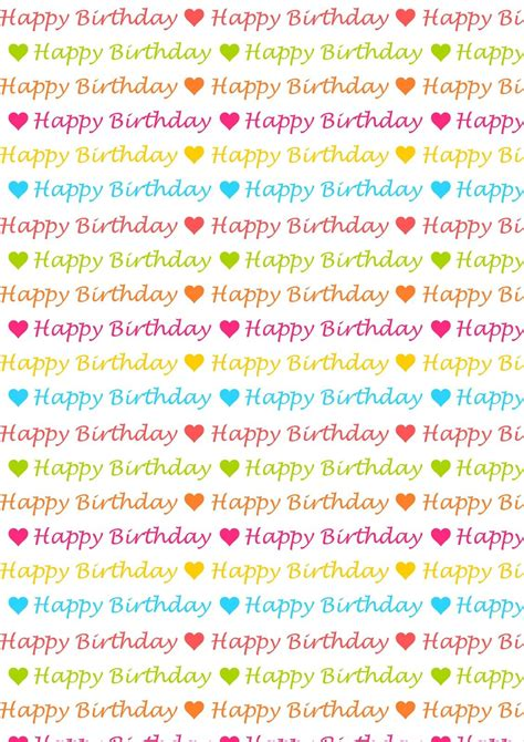 printable birthday cards a4 png und clipart free digital and printable png s and