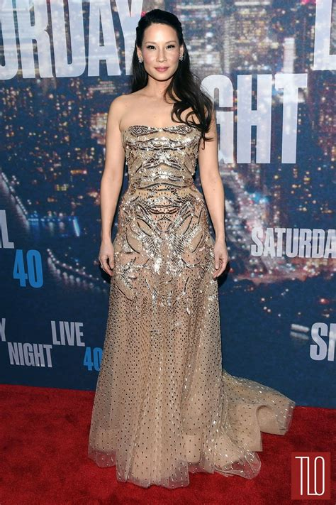 When Bad Clothes Happen To Liu by Liu In Zuhair Murad Couture At Snl 40th Anniversary