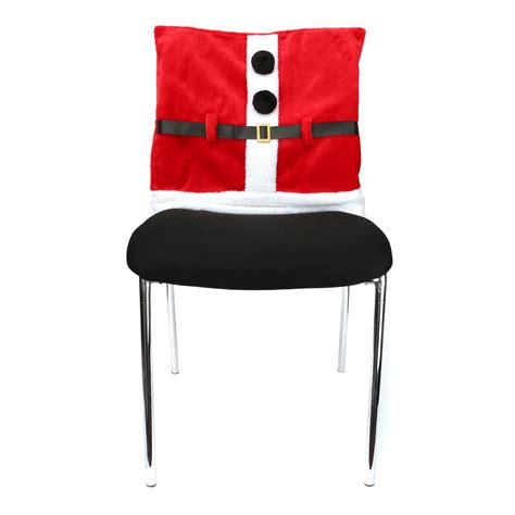 christmas chair cover santa claus dinner decoration alex nld