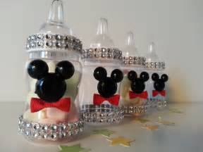 12 mickey mouse fillable blocks baby shower favors prizes