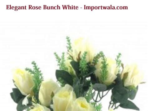 home decor items online shopping in india buy online shopping for elegant rose bunch white home