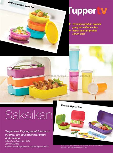Tupperware Activity katalog activity tupperware juli 2017 rashla katalog tupperware promo indonesia