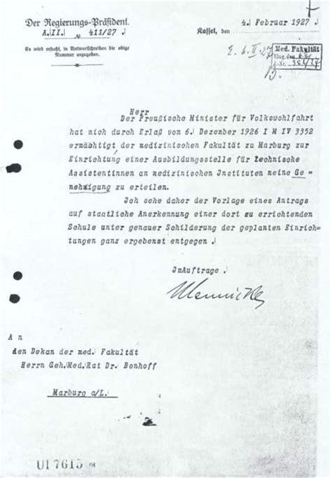Antrag Briefwahl Marburg Ukgm Gie 223 En Marburg Geschichte Der Schule
