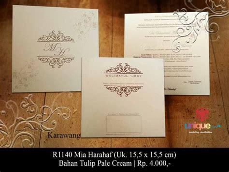 contoh kartu undangan pernikahan unique card wedding invitation produk