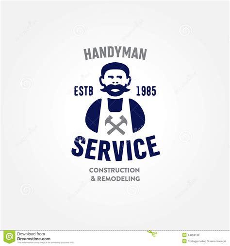 Craftsman Home Design Elements by Retro Handyman Carpenter Corporate Service Badge Symbol