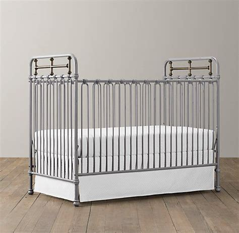 Restoration Hardware Iron Crib by Pin By Davila On Nursery