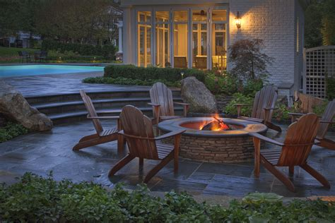 Patio Firepits New Backyard Landscaping Information Offers Design Ideas And Pictures